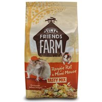Tiny Friends Farm Reggie Rat & Mimi Mouse Tasty Mix - Economy Pack: 2 x 2.5kg