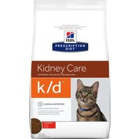 Hill's k/d Prescription Diet Kidney Care pienso para gatos - 2 x 5 kg - Pack Ahorro