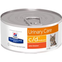 Hills Prescription Diet Feline - c/d Multicare Chicken - Saver Pack: 24 x 156g