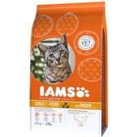 Iams Proactive Health Adult Rich in Chicken Dry Cat Food - Economy Pack: 2 x 10kg