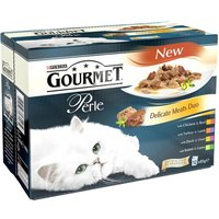 Gourmet Perle Pouches Mixed Pack - Saver Pack: 24 x 85g Chefs Collection Mini Fillets in Gravy