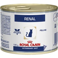Royal Canin Veterinary Diet Cat - Renal Chicken - Saver Pack: 24 x 195g