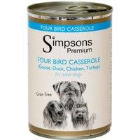 Simpsons Premium Adult Dog - Four Bird Casserole - Saver Pack: 12 x 400g