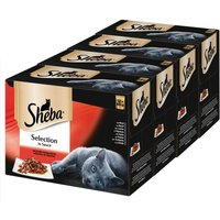 Sheba Pouches Select Slices 48 x 85g - Meat & Fish Collection in Gravy