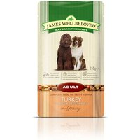 James Wellbeloved Adult Pouches - Turkey with Rice - 10 x 150g