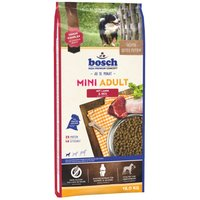 Bosch Mini Adult Lamb & Rice Dry Dog Food - 15kg