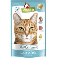 GranataPet Cat DeliCatessen Pouches 12 x 85g - Veal & Rabbit