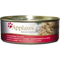 Applaws Cat Food 156g - Chicken - Chicken with Duck 24 x 156g