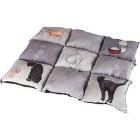 Trixie Patchwork Cat Blanket - 55 x 45 x 6 cm (L x W x H)
