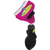 FURminator FURflex deShedding Head & Handle for Large Cats - Finishing Comb Head