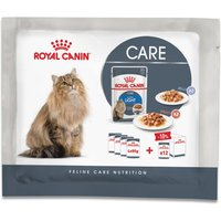 4 x 85g Royal Canin Wet Cat Food Pouches Trial Pack - Ultra Light