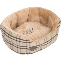 zoolove Sweet Home Snuggle Bed - 55 x 45 x 21 cm (L x W x H)