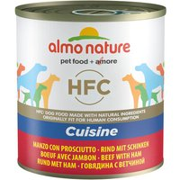 Almo Nature HFC Saver Pack 12 x 280g / 290g - Beef with Ham (290g)