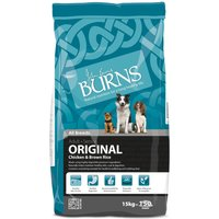Burns Adult & Senior Original - Chicken & Brown Rice - Economy Pack: 2 x 15kg