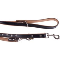 Heim Leather Dog Lead - Stars - 200cm