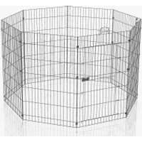 Ferplast Freigehege 8-eckig - Größe L: 8 Elemente à B 57 x H 91,5 cm