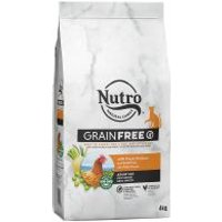 Nutro Katze Grain Free Adult Huhn - Sparpaket: 3 x 4 kg