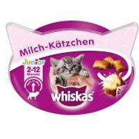 Whiskas Milk Kitty snacks con leche para gatitos - 8 x 55 g - Pack Ahorro
