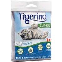 Tigerino Canada Sensitive arena aglomerante - 12 kg