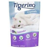 Tigerino Crystals arena absorbente con olor a lavanda - 3 x 5 l