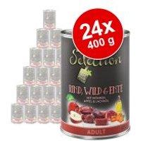 zooplus Selection 24 x 400 g - Pack Ahorro - Adult Sensitive con pollo y arroz