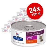 Hill's Prescription Diet 24 x 156 g en latas para gatos - Pack Ahorro - Problemas gastrointestinales i/d