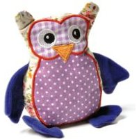 Aumüller Patchwork Owl Cat Toy with Valerian - 1 Toy