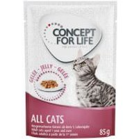 Concept for Life All Cats en gelatina - 24 x 85 g