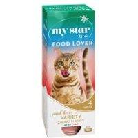 My Star Bocaditos en salsa 10 x 85 g comida húmeda para gatos - My Star is a Big Boss, con vacuno