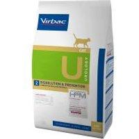Virbac U2 Veterinary HPM Urology Dissolution & Prevention para gatos - 2 x 7 kg - Pack Ahorro
