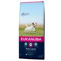 Eukanuba Active Adult razas pequeñas con pollo - 3 x 3 kg - Pack Ahorro