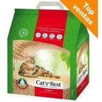 Cat's Best Original arena vegetal aglomerante - 40 l (aprox. 17,2 kg)