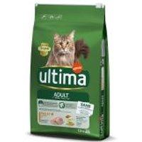 1 / 2 kg gratis! 7,5 kg / 10 kg Ultima Cat - Adult Huhn (7,5 kg)