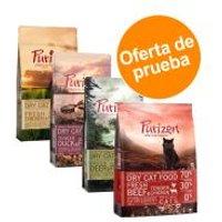 Purizon Adult para gatos - Pack mixto - 4 x 400 g Adult