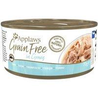 Applaws Grainfree in Gravy 24 x 70 g  - Hühnchen