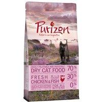 Purizon Kitten con pollo y pescado - Pack % - 2 x 6,5 kg