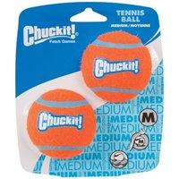 Chuckit! Tennis Ball - 2 Stück - Gr. M: Ø 6,5 cm