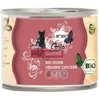 catz finefood Bio 6 x 200 g - No.503 Bio-Huhn