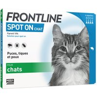 6x pipettes Spot-On FRONTLINE Chat