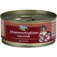 Grau Gourmet Grain-Free 6 x 100g - Kitten Menu - Beef, Duck & Poultry