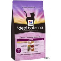 Hills Ideal Balance Feline Dry Cat Food Economy Packs - No Grain - Chicken & Potato (2 x 2kg)
