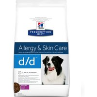 Hills Prescription Diet Canine - d/d Allergy & Skin Care Duck & Rice - Economy Pack: 2 x 12kg