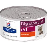 Hills Prescription Diet Feline - i/d Digestive Care - Saver Pack: 24 x 156g