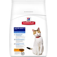 Hills Science Plan Mature Cat 7+ Active Longevity - Chicken - Economy Pack: 2 x 10kg