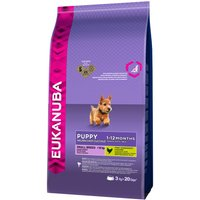 Eukanuba Small Breed Puppy Food - 3kg