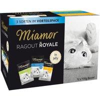 Miamor Ragout Royale Mixed Trial Pack 12 x 100g - 4 Varieties in Gravy