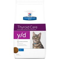 Hill's y/d Prescription Diet Thyroid Care pienso para gatos - 1,5 kg