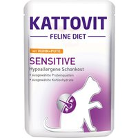 Kattovit Sensitive Pouches - Saver Pack: Chicken & Duck (12 x 85g)