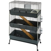 Vital 3-Tier Small Pet Cage 100 - 100 x 51 x 153 cm