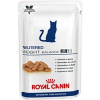 Royal Canin Vet Care Nutrition Cat - Neutered Weight Balance - 12 x 100g